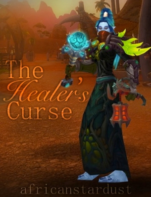 the healer's curse cover